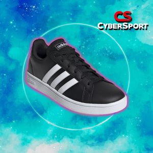 Tenis Adidas Grand Court Base Negro - EE7482
