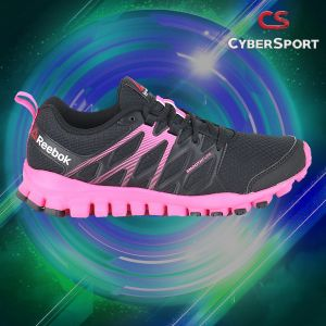 Tenis Reebok Real Flex Train4.0 Negro/Rosa-Originales Ar3658