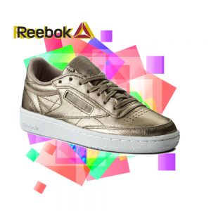 TENIS REEBOK CLUB C 85 MEL TED METAL WOMEN - BS7901