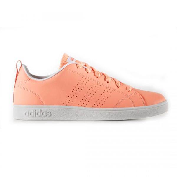 cd12800a7bfba TENIS ADIDAS VS ADVANTAGE CLEAN MUJER - NARANJA B74578